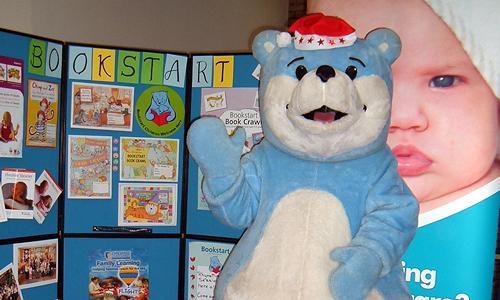 Bookstart Bear Mascot