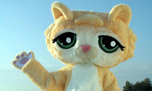 Littlest Petshop Cat Mascot