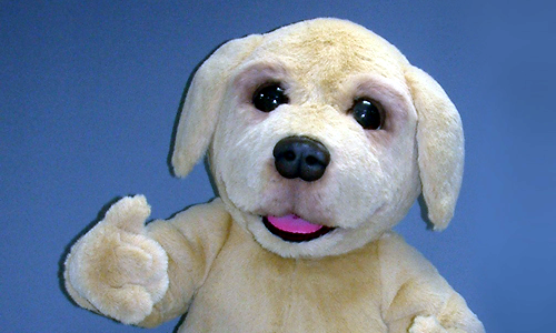 Andrex Puppy brand mascot