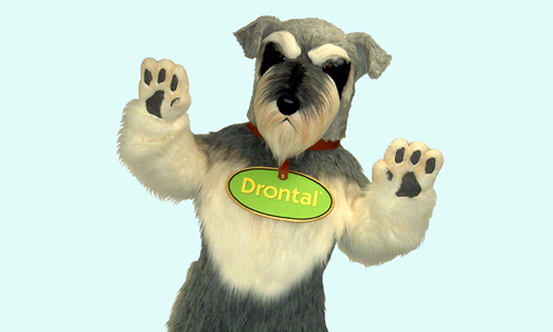 Drontal Dog - Bayer Plc Mascot