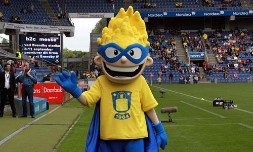 Brondbyernes IF Fodbold AS Mascot - Brondus