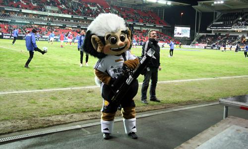 Rosenborg BK Football Mascot - Troll