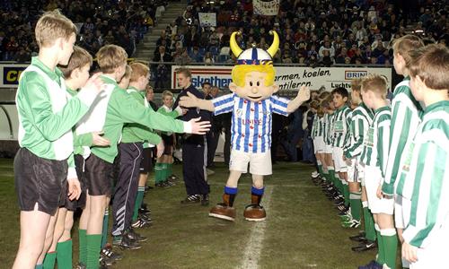 SC Heerenveen Football Mascot - Heero