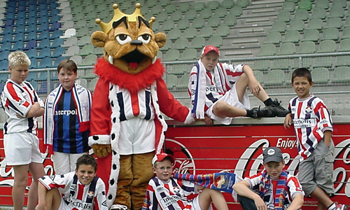 Willem II Tilburg Football Mascot - Kingo