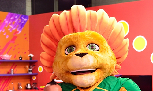 Cricket South Africa Mascot - Zac