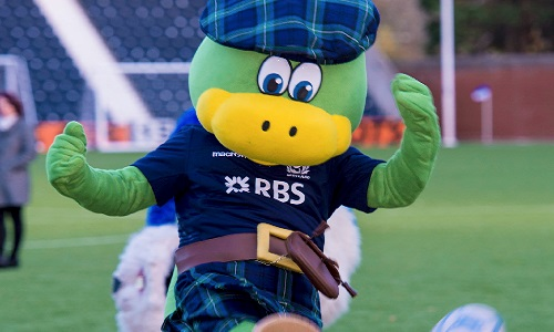 Lochie - Scottish Rugby Union Mascot