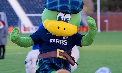 Lochie - Scottish Rugby Union Mascot