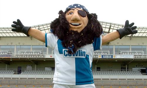 Bristol Rovers FC Mascot - Captain