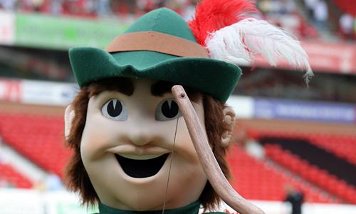 Nottingham Forest FC Mascot - Robin Hood