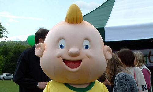 Socatots Limited Football Mascot - Socatot