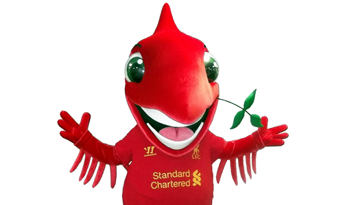 Liverpool FC Mascot - Mighty Red