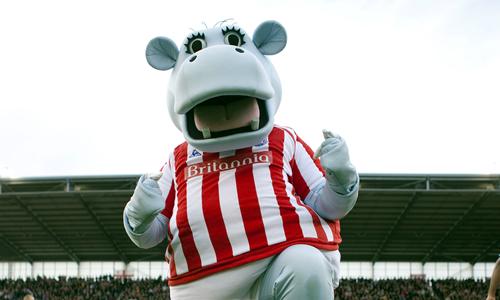 Stoke City FC Mascot - Potamuss