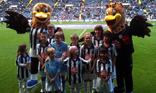 West Bromwich Albion FC Mascot - Baggie Albi