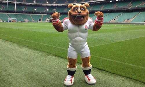 Ruckley - England Rugby Kids First Mascot