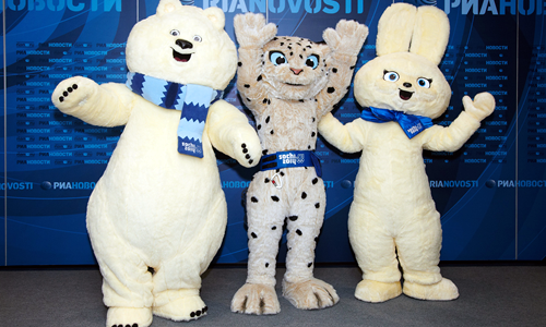 Sochi 2014 Winter Olympic Mascots