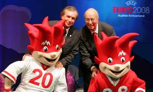 UEFA Euro 2008 - Trix Flix Football Mascots