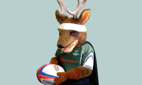Nottingham Rugby - Archie the Stag
