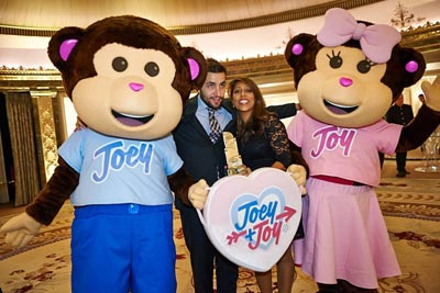 Joey & Joy brand characters attend event