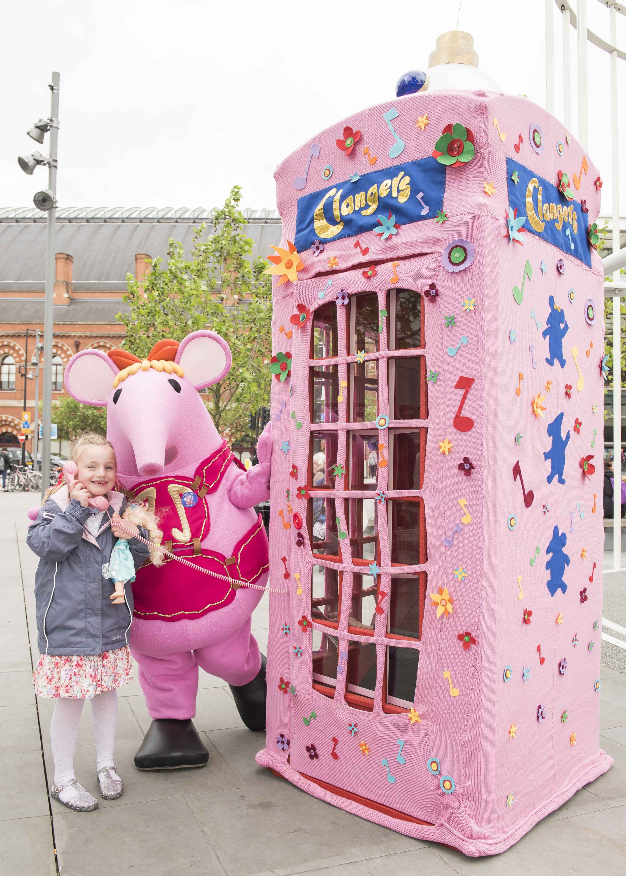 Call the Clangers event in King's Cross