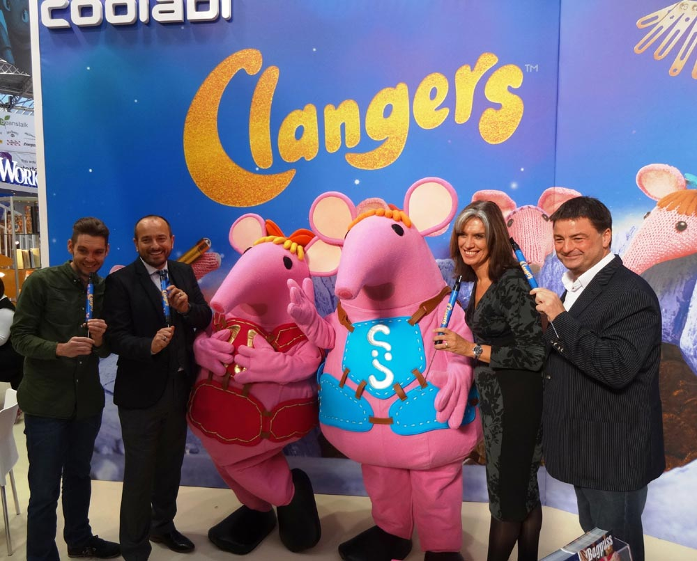 Clangers enjoy event