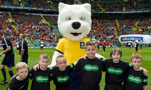 2013-14 Scottish Cup - Scottish FA - Scotty Football Mascot