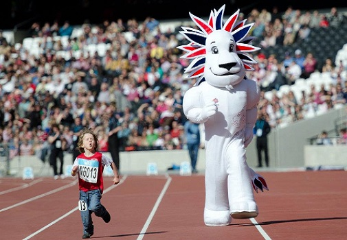 Pride the Lion - Team GB Olympic Mascot