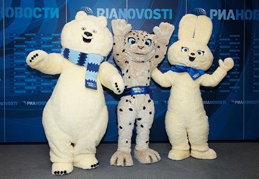 Sochi 2014 Winter Olympics Mascots