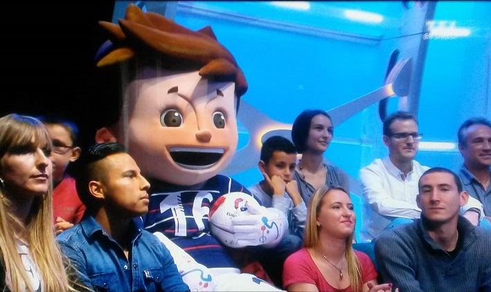Super Victor - UEFA EURO 2016 Football Mascot