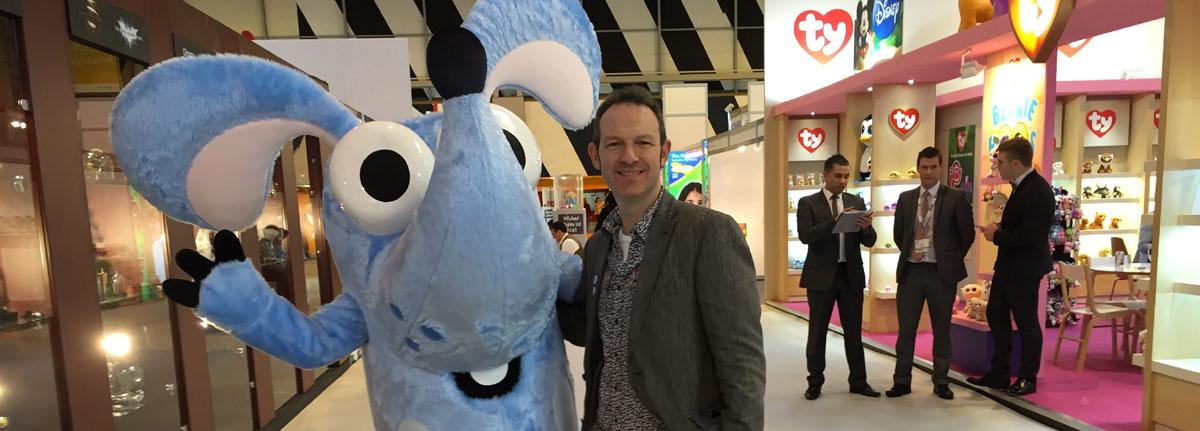Boj children's TV character mascot