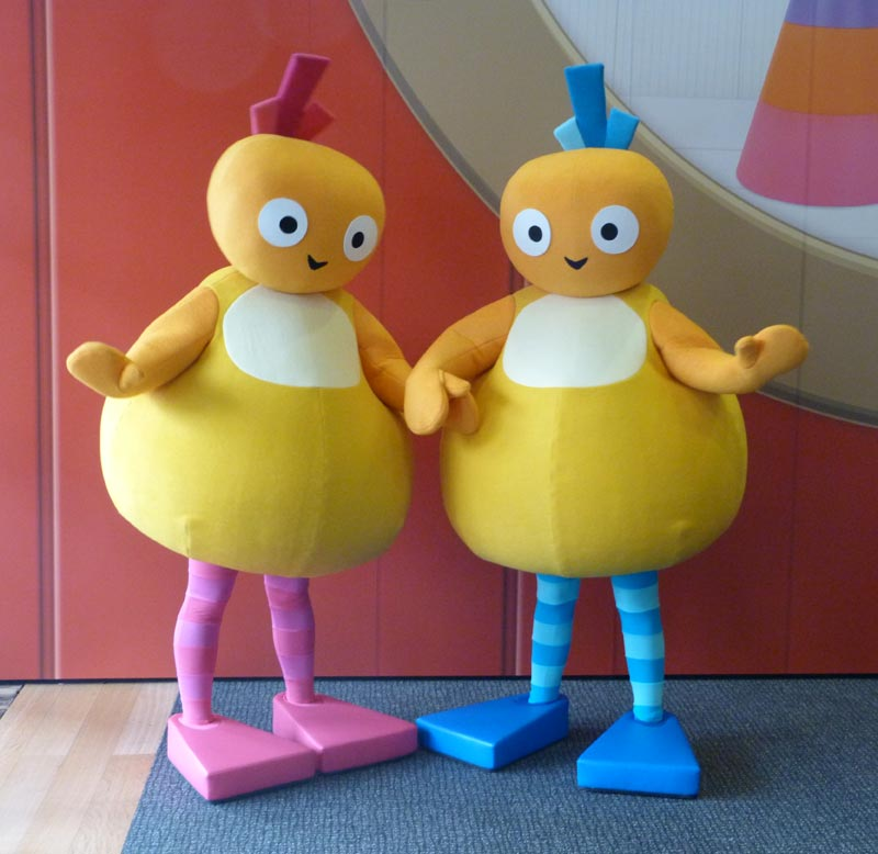 Chickedy and Chick from Twirlywoos