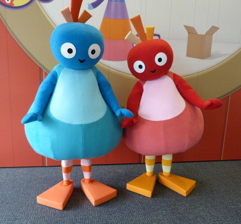 Great BigHoo and Toodloo from Twirlywoos