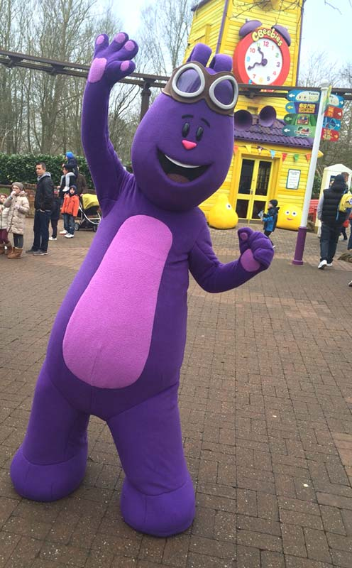 Mim-Mim at CBeebies Land at Alton Towers Resort