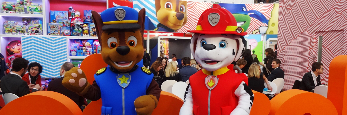 Paw Patrol Mascot Hire & Character Appearances | Rainbow