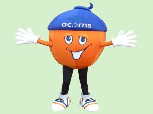 Alex Acorn Mascot