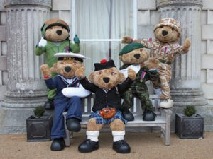 Hero Bears Mascots
