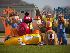 Magic Roundabout Mascots
