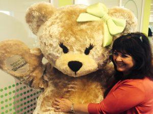 Mrs Bear Mascot