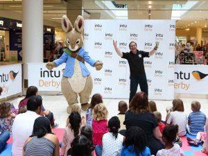 Peter Rabbit Mascot