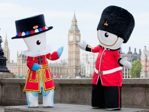 Wenlock and Mandeville Mascots