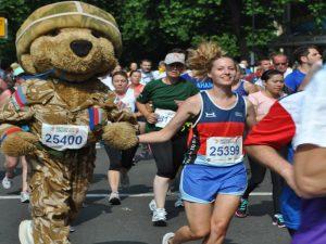 Hero Bear Mascot