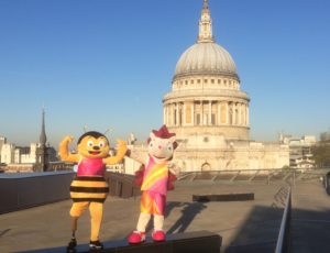 Whizbee and Hero St.Pauls