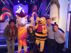Whizbee and Hero Blue Peter