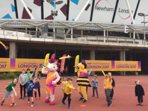 Whizbee and Hero Olympic Stadium