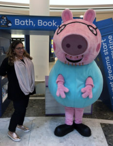Jo Frost Daddy Pig Lakeside