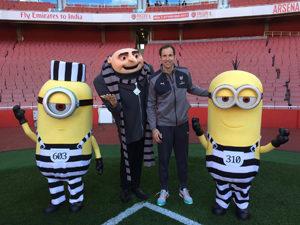 The Minions Gru Arsenal FC