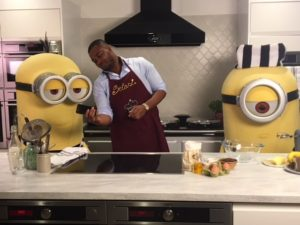 Minions Bake Off Filming