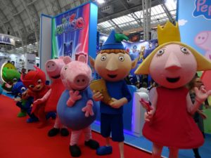 BLE 2017 eOne Characters