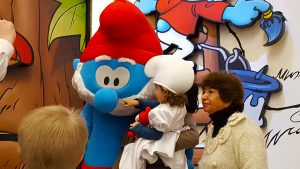 Papa Smurf Comics Station Antwerp