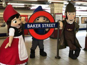 Sherlock Gnomes Baker Street