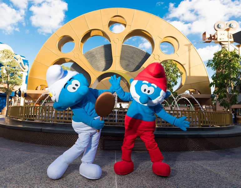 Smurfs Costume Characters